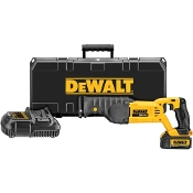 DEWALT DCS380L1 20V MAX* Lithium Ion Recip. Saw Kit
