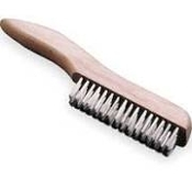 WEILER 44432 S.S LONG HANDLE WIRE BRUSH