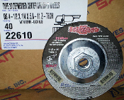 SAIT 22610 4-1/2X1/4X5/8-11 Z-TECH DISC