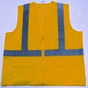 SAFETY VEST FLAME RETARDANT MED