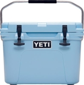YETI ROADIE 20 BLUE COOLER