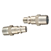 "3/8"" MALE COUPLER PLUG ""H"" STYLE"