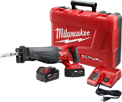 MILWAUKEE 2720-22 M18 FUEL SAWZALL® Reciprocating Saw Kit