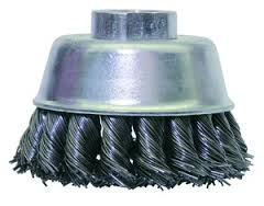 "WEILER 13245 3""X5/8-11 WIRE CUP BRUSH"