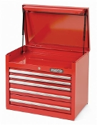 PROTO J442719- Red 5-Drawer Chest