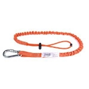 FLUORESCENT ORANGE TOOL LANYARD