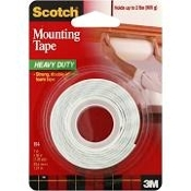 "3M 1"" X 50"" DOUBLE SIDE MOUNT TAPE"