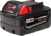 MILWAUKEE 48-11-1840 M18 RED LITHIUM 4.0AH BATTERY PACK