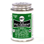 8OZ CLEAR PVC CEMENT
