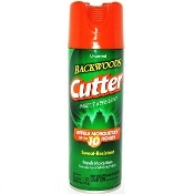 Cutter 9518 Insect Repellent 6oz Backwoods Aerosol Unscented