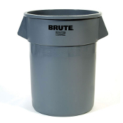 Rubbermaid Brute Gray 55 Gallon Trash Container