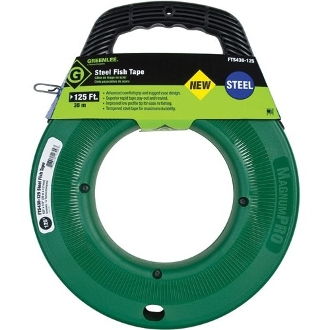"Greenlee FTS438-125 FISH TAPE 1/8""X125' GREENLEE"