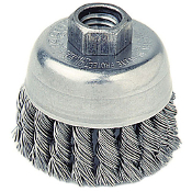 "WEILER 13286 3""X5/8-11 .020 WIRE CUP BRUSH"