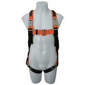 FULL BODY HARNESS W/BUCKLE STRAP