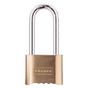Master Lock #175 COMBINATION PADLOCK W/LONG SHANK