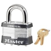 Master Lock #5 PADLOCK KEYED ALIKE