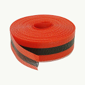 "RED&BLK 2""X200' WOVEN BARRIER TP"