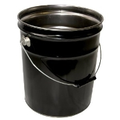 5 GALLON METAL STEEL BUCKET