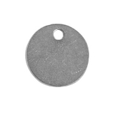 "C.H. Hanson CHH41858 1-1/2"" ROUND STAINLESS STEEL TAG"