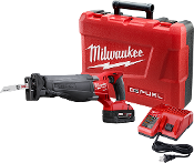 MILWAUKEE 2720-21 M18  FUEL SAWZALL 2 BATTERY KIT 18V