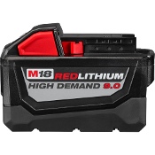 MILWAUKEE 48-11-1890 M 18V  RED LITHIUM 9.0AH BATTERY