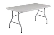 6X2.5FT UTILITY TABLE FOLDING