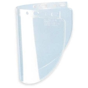 FIBRE-METAL 4178-C FACESHIELD VISOR, PROPIONATE, CLEAR, 8X16-1/2