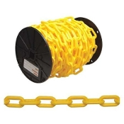 CAMPBELL 0990837 #8 YELLOW PLASTIC CHAIN 60FT BOX