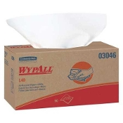 "WYPALL L40 DISPOSABLE WIPES, 10-5/8"" X 10"""