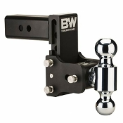 "B&W Hitch TS20037B Tow Stow Dual-Ball Hitch 2.5"" Shank"