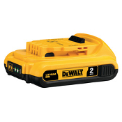 DEWALT DCB203 - 20V  LI-ION  2.0 AH BATTERY PK