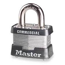 Master Lock #3 PADLOCK KEYED ALIKE