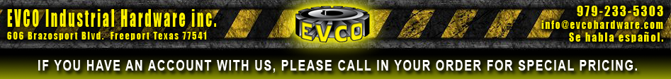 Evco Industrial Hardware