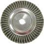 "WEILER 08169 WIRE WHEEL 10""TWISTED WIRE .0118"